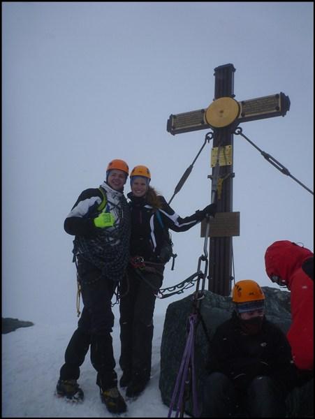 ... und auf dem Gipfel des Großglockners