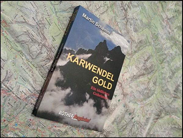 Buchtipp: Alpenkrimi Karwendelgold