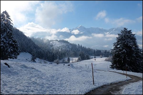 Winterwanderung auf dem Philosophenweg