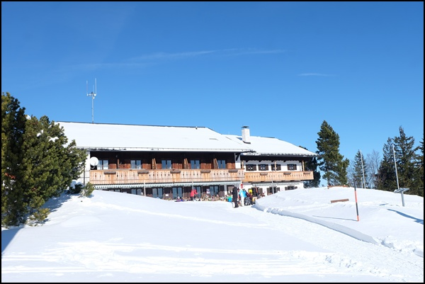 Gipfelbuch: Leichte Winterwanderung auf den Blomberg