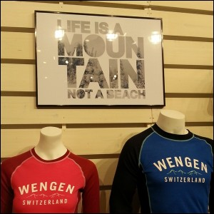Life is a mountain not a beach!