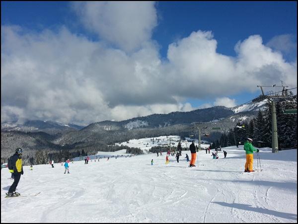 Pisten zum Skifahren lernen