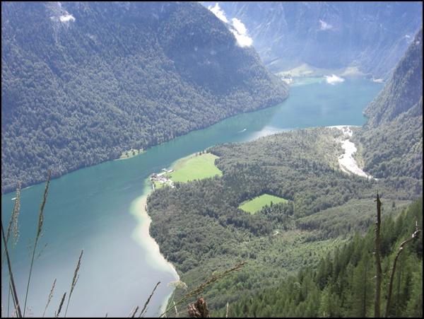 Königssee von oben