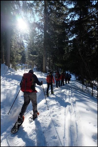 mit Schneeschuhen durch das Berchtesgadener Land