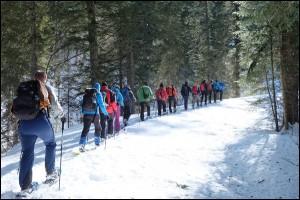 12 Stunden Schneeschuhwanderung Berchtesgadener Land