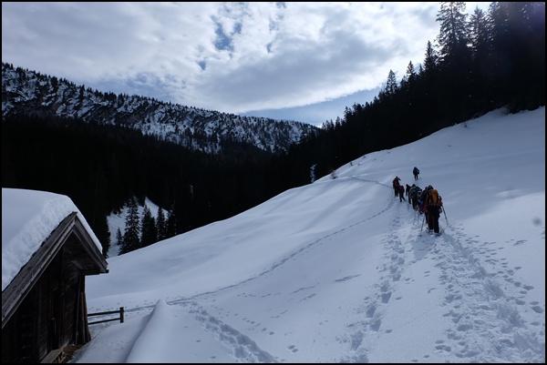 Schneeschuhtour Berchtesgadener Land