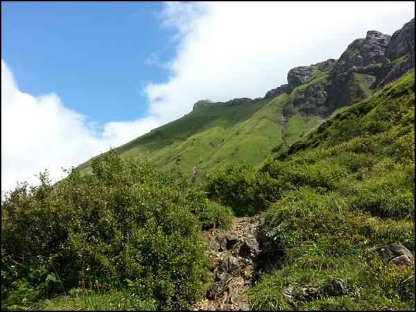 Allgäuer Berge bei Hindelang
