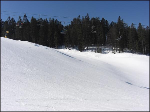 schnee-wellenreiten in Seefeld