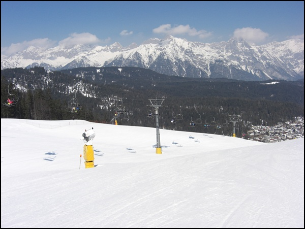 Projekt Pistenglück 5/2015: Skigebiet Gschwandtkopf in Seefeld in Tirol