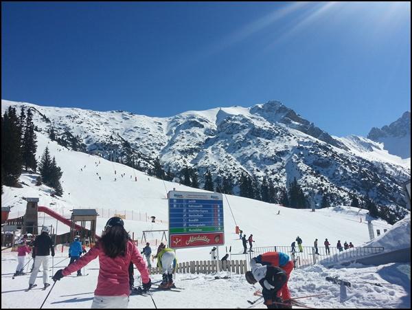 Skifahren lernen im Karwendel in Seefeld in Tirol