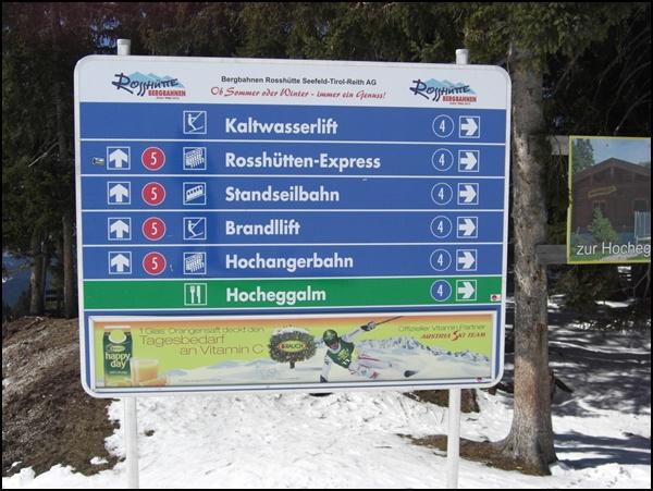 Rosshütte: Anfänger bitte rechts entlang