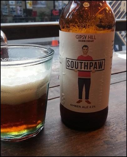 Bier aus South London. Zu finden auf @gipsyhillbrew
