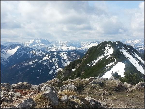 Jägerkamp und Mangfallgebirge
