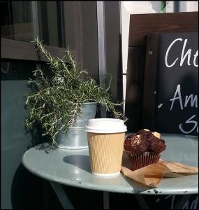 Kaffeepause in Marylebone