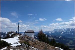 Wanderung auf den Spitzstein im Chiemgau