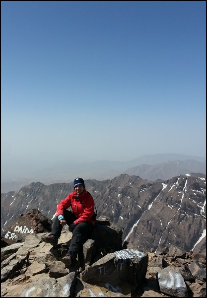Gipfelglück Jebel Toubkal