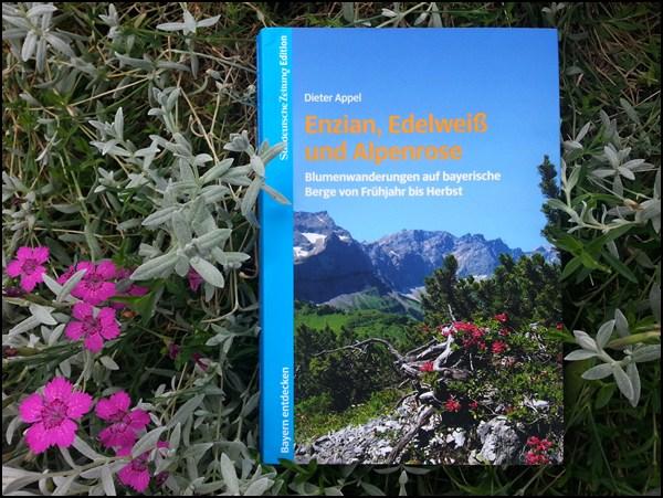 Buchtipp: Enzian, Edelweiß und Alpenrose. Blumenwanderungen