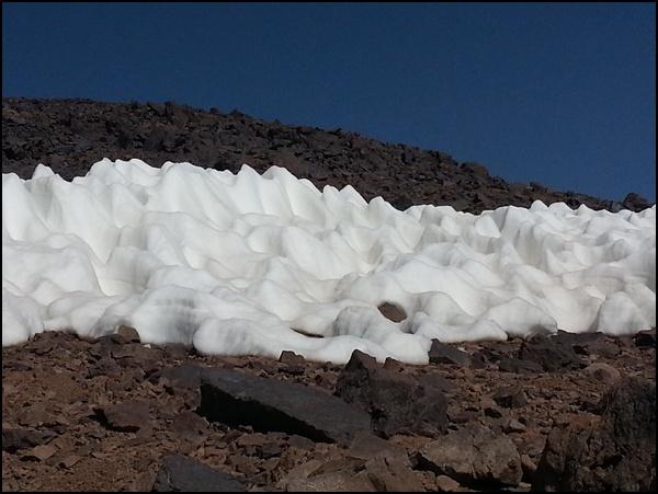 Reste des Winters in Marokko