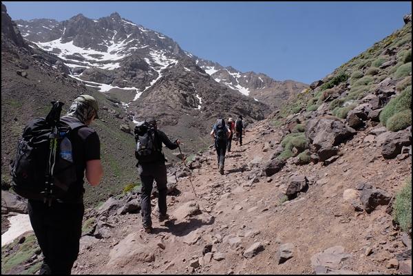 Durch den Hohen Atlas zum Jebel Toubkal