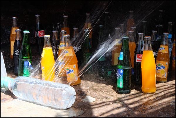 Wie man in Marokko Getränke kühlt