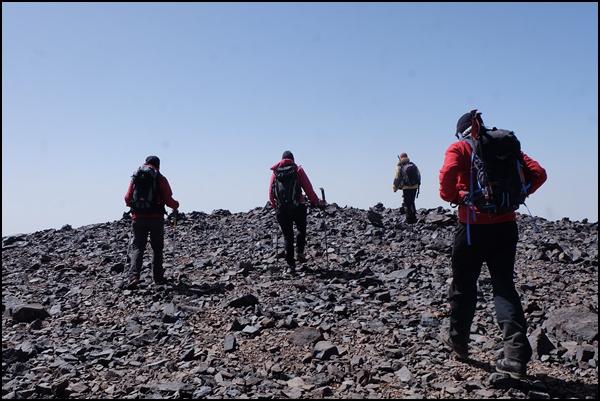 am Timzguida Gipfel in Marokko