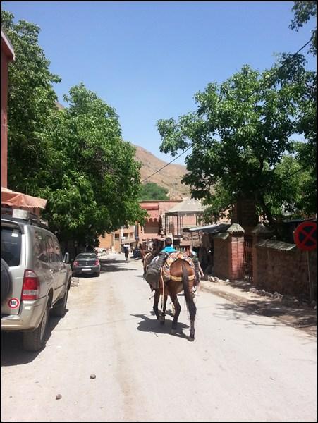 Hauptstraße von Imlil