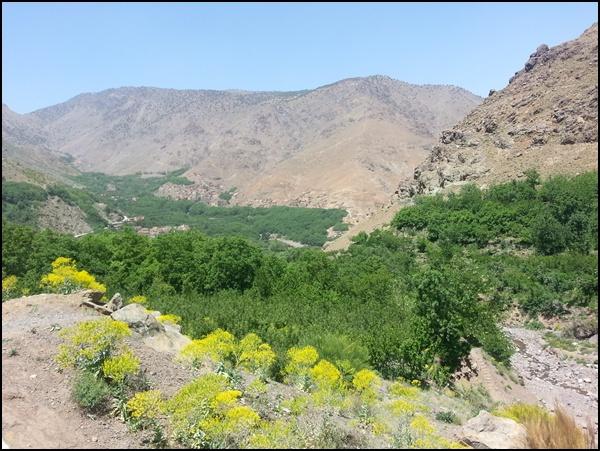 Trekking im Hohen Atlas in Marokko