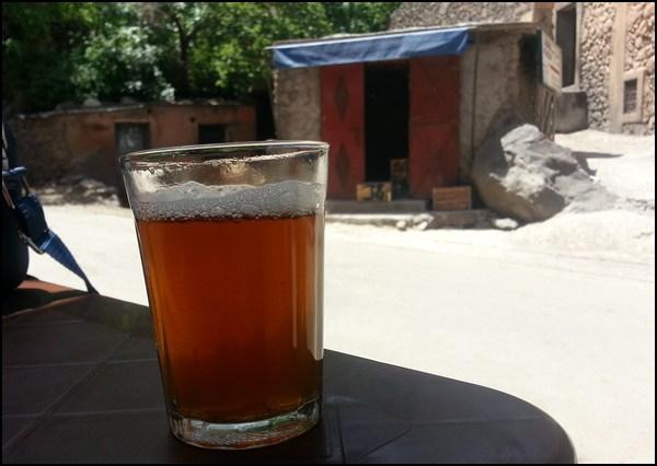 Tee trinken in Imlil/ Marokko