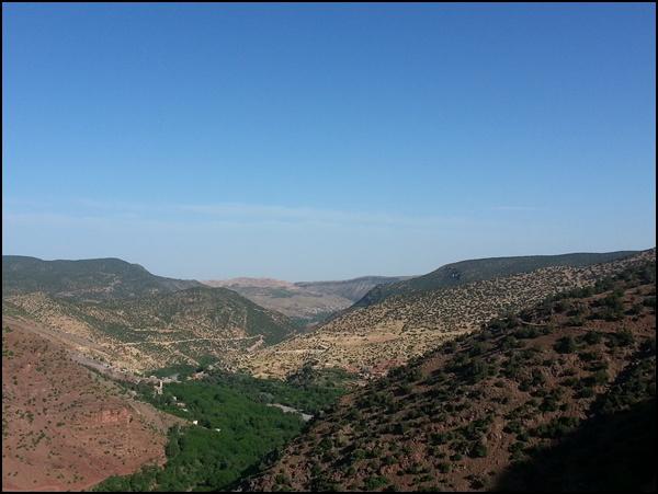 Berberland rund um Imlil Marokko