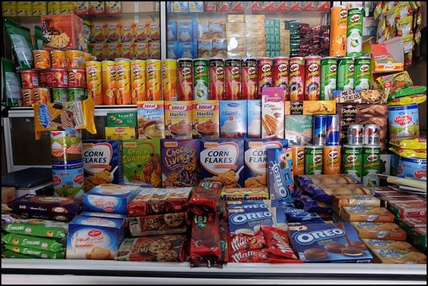 Im Supermarkt in Imlil