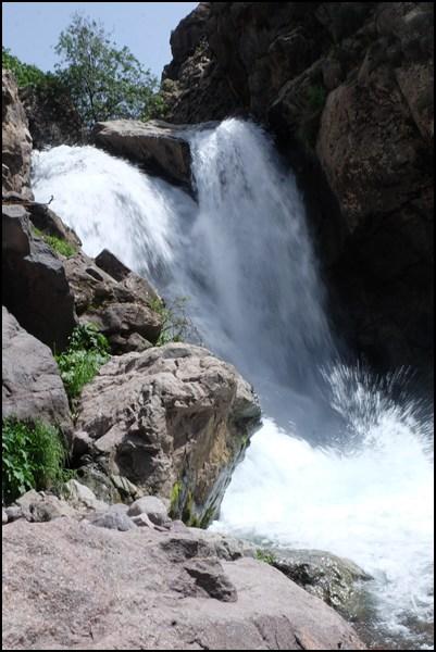 Wasserfall bei Imlil in Marokko