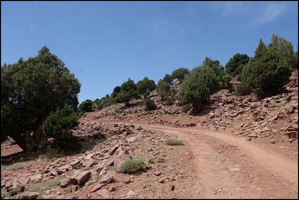 rote Erde Marokko