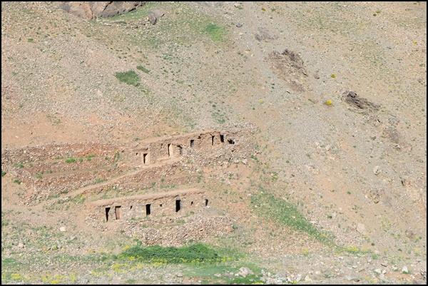 Hütten für Hirten im Hohen Atlas