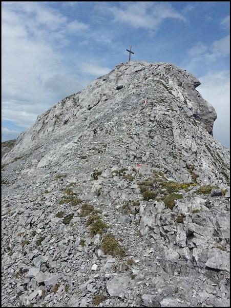 ..gefolgt von der letzten Kletterstelle.