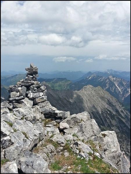 Sonnjoch Gipfel