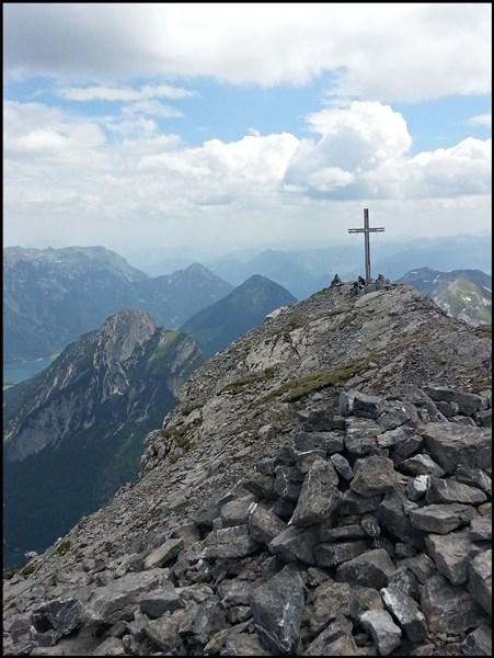 Gipfelkreuz Sonnjoch