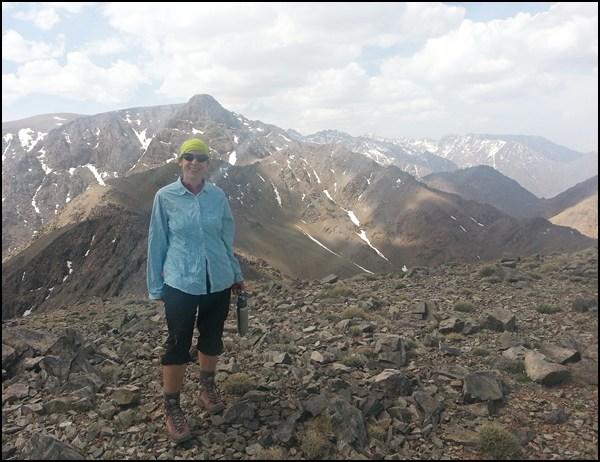 Auf dem Gipfel des Ouhattar