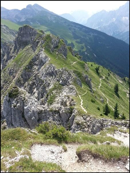 Karwendel Bergtour zur Schöttelkarspitze