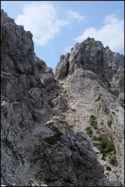 Schöttelkarspitze im Karwendel