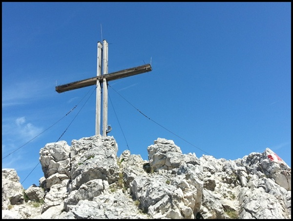 Gipfelbuch: Ebner Joch über dem Achensee