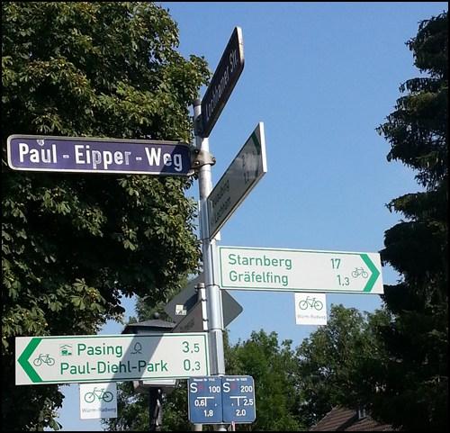 Radlfahrer Hinweise in München