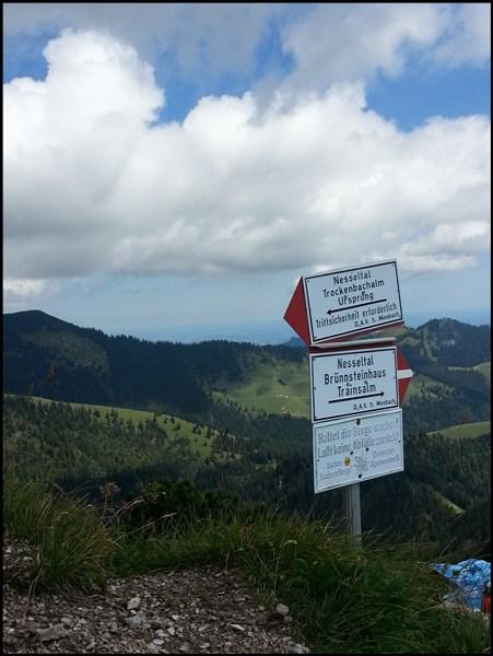 Trainsjoch Gipfel