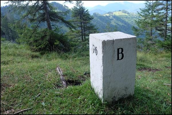 Grenzstein Tirol Bayern