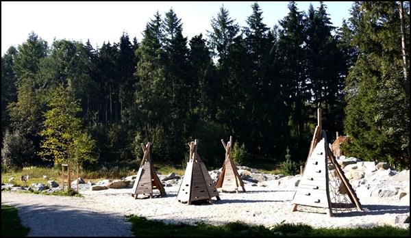 Indianer Spielplatz im Weltwald