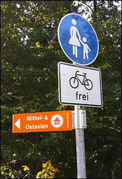 Nach Asien? Für Fahrräder frei...