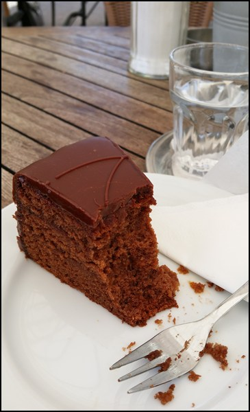 Sachertorte in Bregenz