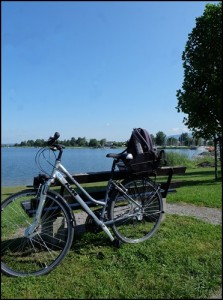Radl in Hard am Bodensee