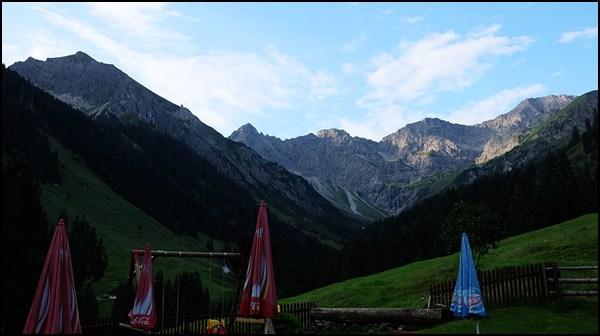 Bergkristall-Morgenstimmung - ein Privileg der Übernachtungsgäste