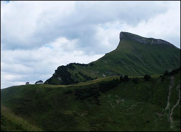 Biberacher Hütte und Rothorn