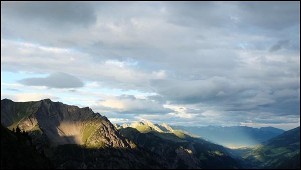Sonne für das Große Walsertal